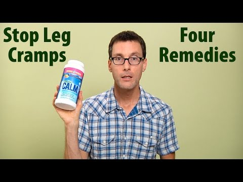 4 Ways To Quickly Stop Leg Cramps & Foot Cramps With Natural Remedies