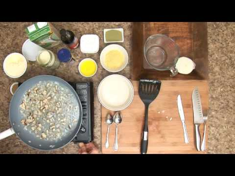Healthy Recipe - Mashed Potatoes & Shiitake Mushroom Gravy